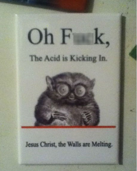 drugs the walls are melting acid - 6751360768