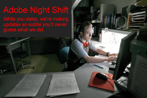 adobe reader,adobe night shift,adobe,adobe update