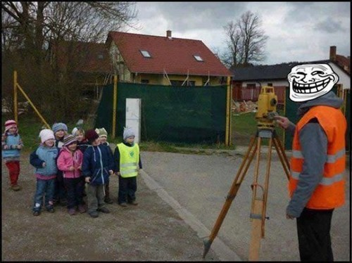 construction worker trollface trolling photos surveyor - 6751397632