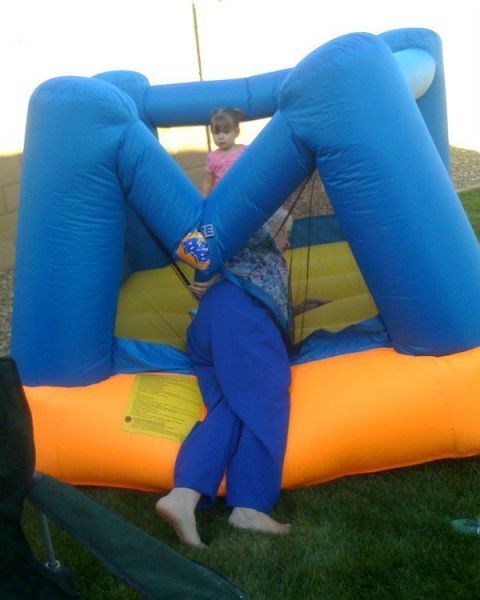 Bounce House stuck grandma fail nation g rated