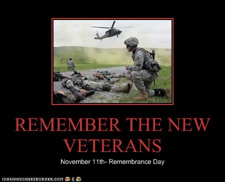 REMEMBER THE NEW VETERANS