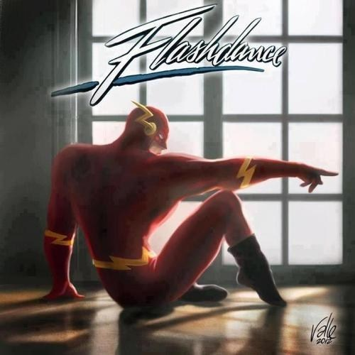 DC,Movie,literalism,flashdance,dance,double meaning,flash
