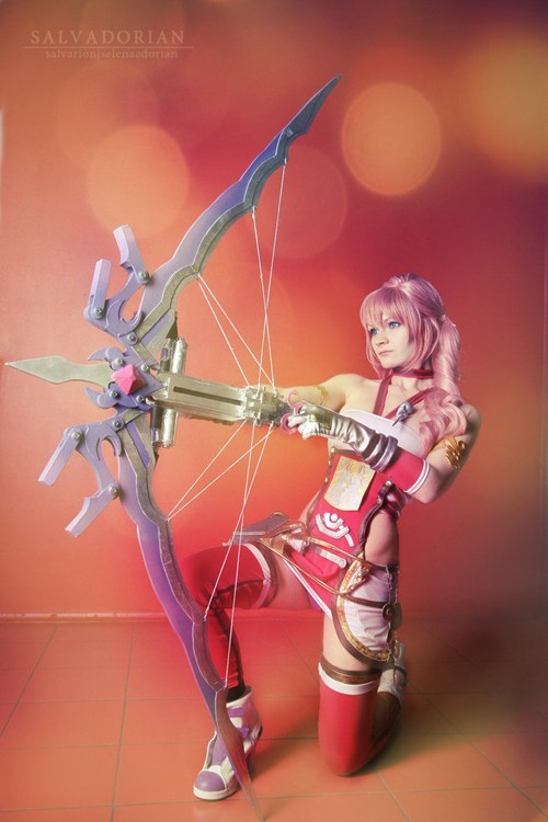 cosplay Serah Farron final fantasy video games
