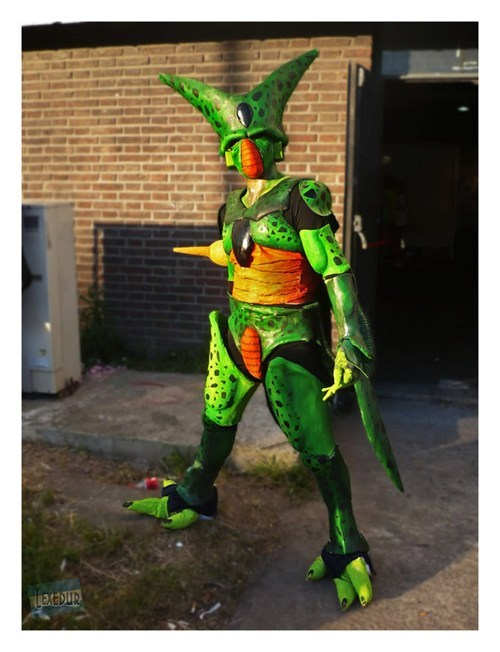 cosplay,cartoons,cell,Dragon Ball Z
