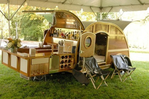 Every Camping Trip Needs a Portable Bar