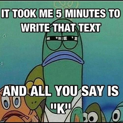 texting etiquette k SpongeBob SquarePants - 6752119552