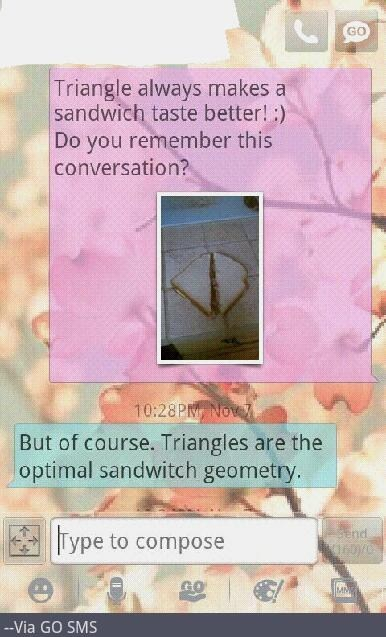 triangles,android,sandwiches