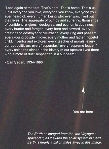 carl sagan,space