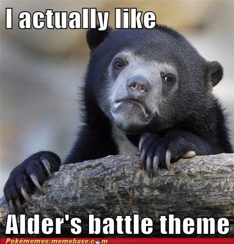 alder's theme,meme,Confession Bear