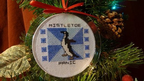 sap socially awkward penguin design meme what kind of art is this christmas crocheting? knitting mistletoe or carving bracketeering? - 6752322816