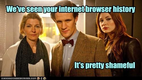 shameful karen gillan the doctor Matt Smith doctor who internet history disapproval amy pond - 6752366336