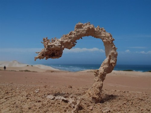 national geographic sand Fulgurite - 6752424960