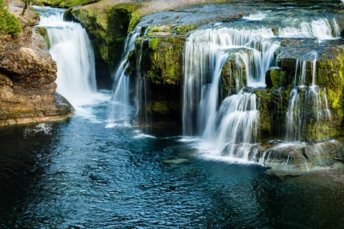 river landscape waterfall falls