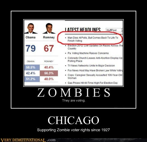 zombie obama Romney rights chicago - 6752579840
