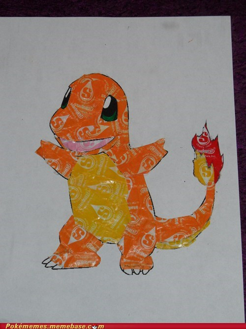 candy awesome charmander starburst - 6752872192