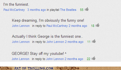 the Beatles comments youtube - 6753091072