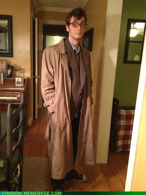 cosplay,halloween,10th doctor,doctor who