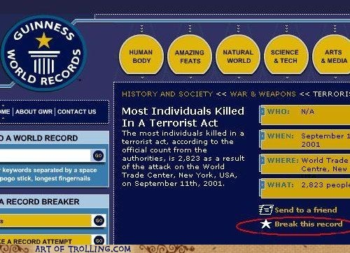 terrorism,guinness world records,records