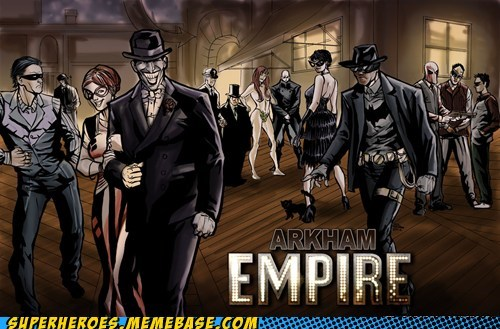 nightwing boardwalk empire Arkham Asylum - 6753791232