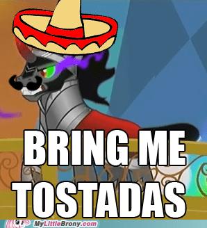 king sombra,tostadas,worst villain