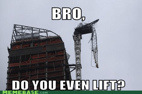 do you even lift bro crane hurricane sandy - 6754232832