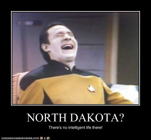 brent spiner,intelligent life,the next generation,data,Star Trek,North Dakota,laughing