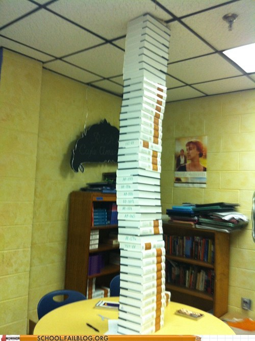 textbooks english class stacks on stacks - 6754361856