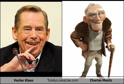 Vaclav Klaus Totally Looks Like Charles Muntz