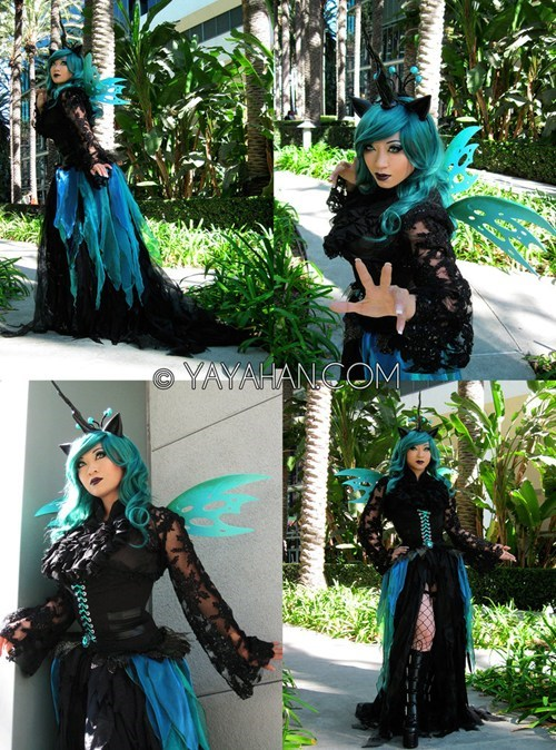 yaya han,cosplay,Bronies,queen chrysalis,my little pony,cartoons