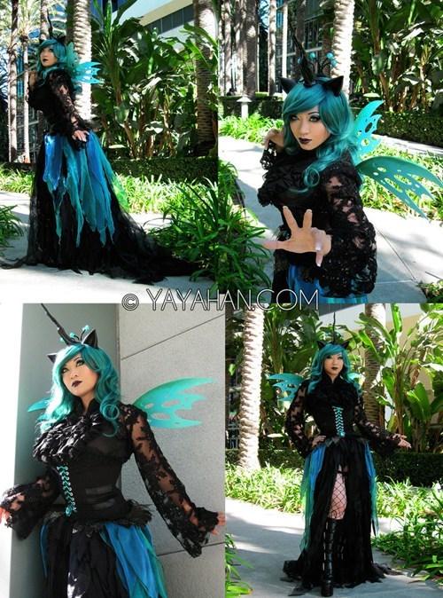 yaya han cosplay Bronies queen chrysalis my little pony cartoons - 6754560512