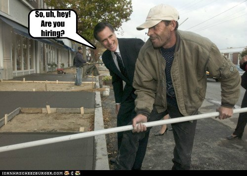 job Mitt Romney dirty jobs mike rowe hiring unemployed