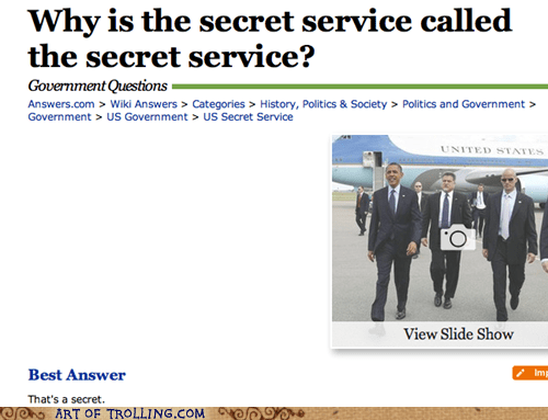 secret service,answers.com,secrets