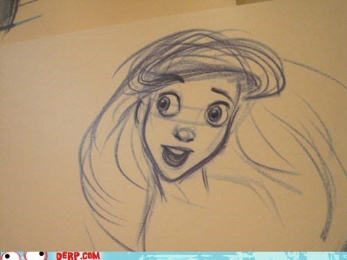 drawing,disney,under the sea,The Little Mermaid