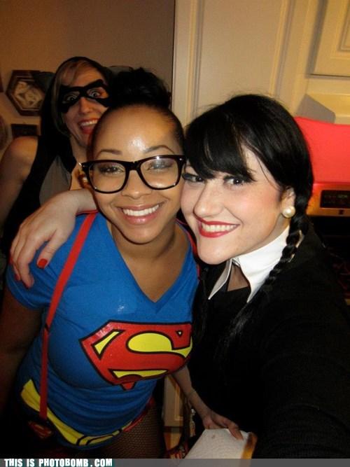 raccoon costume supergirl oppurtune - 6756857088