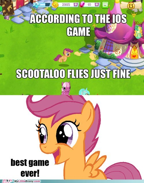 game ios Scootaloo