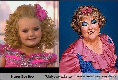 here comes honey boo boo,the drew carey show,TLL,kathy kinney,honey boo-boo,reality tv,funny