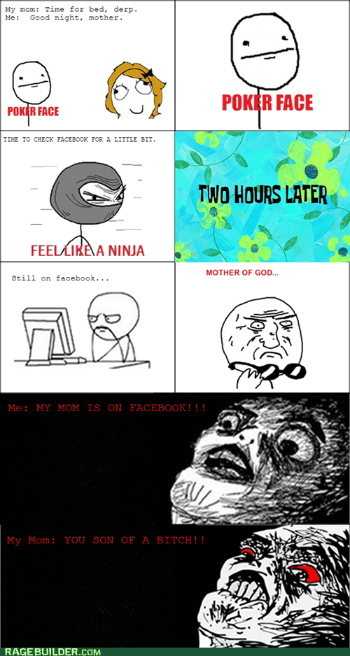 raisin rage,poker face,parenting,facebook,raisin face,feel like a ninja