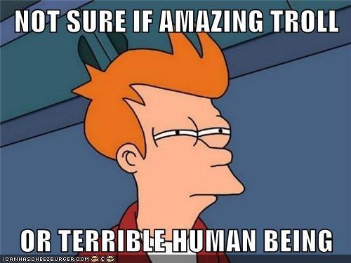 best human troll worst fry same - 6757681408
