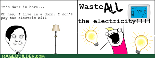 all the things electricity dorm life truancy story - 6757974528