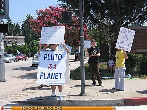 pluto planets protests Astronomy uranus - 6758302208