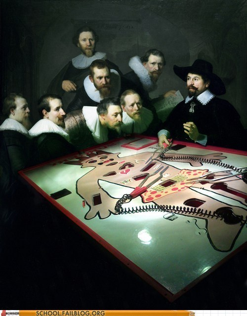 renaissance,modern anatomy,operation,paintings