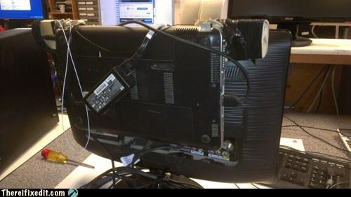 broken screen laptop monitor computer monitor computer screen - 6758343424