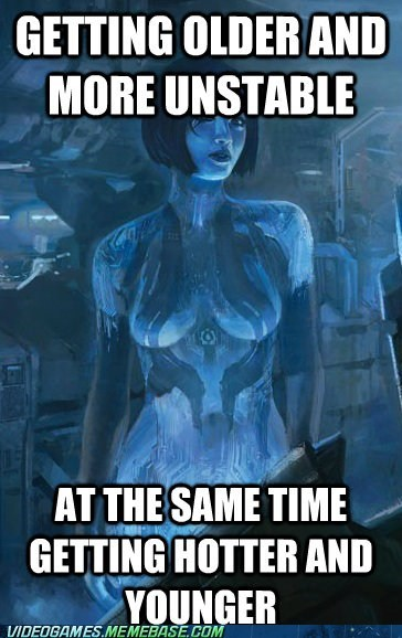 cortana,video game logic,Halo 4