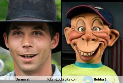 jeremiah,puppet,reality tv,funny,Bubba J,breaking amish