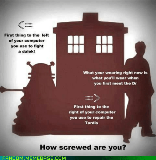 how screwed are you,brony mod to fight a dalek,doctor who,cactus to repair the tardis