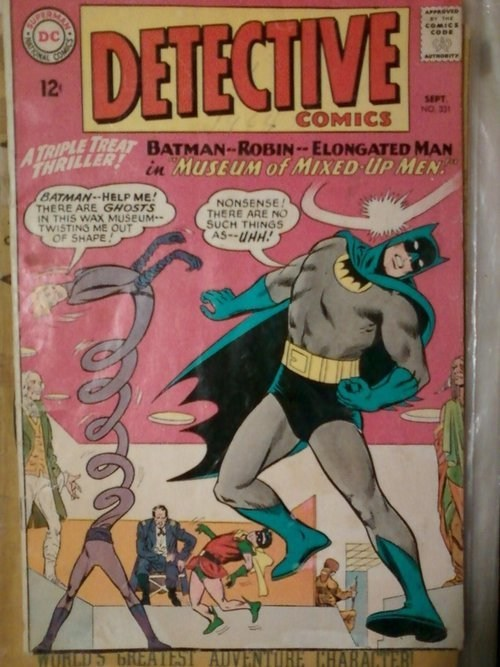 crazy detective comics ghosts batman