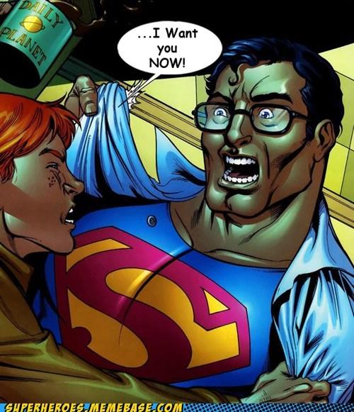 yikes,Clark Kent,jimmy olsen