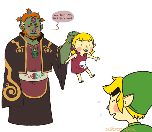 babysitter,Ganondorf,zelda