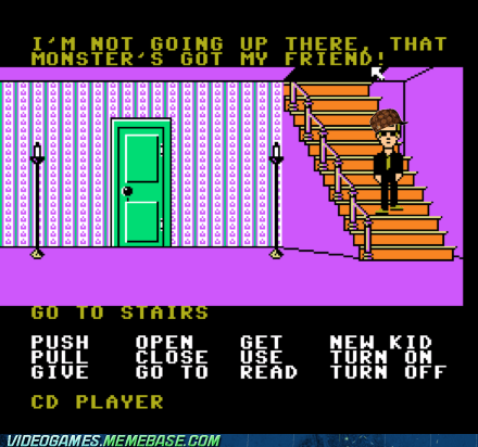 scumbag,true friend,maniac mansion,monster