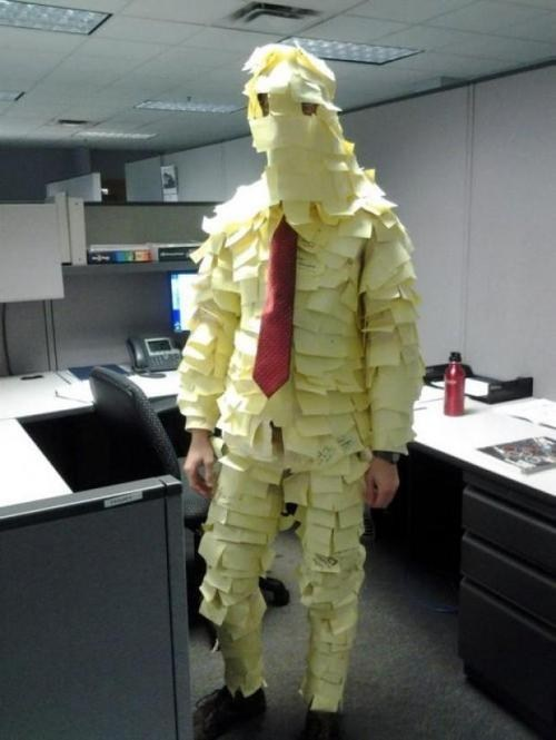 post-it notes office prank post its post it noted
